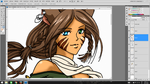 WIP - Commission Fialas Dawnren by Neldorwen