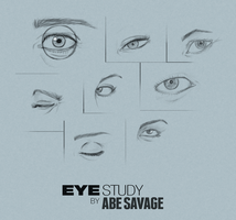 Eye Study by Abe Savage by IronHard