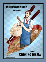 MM: COOKING CLUB PROMO by TAKESHl