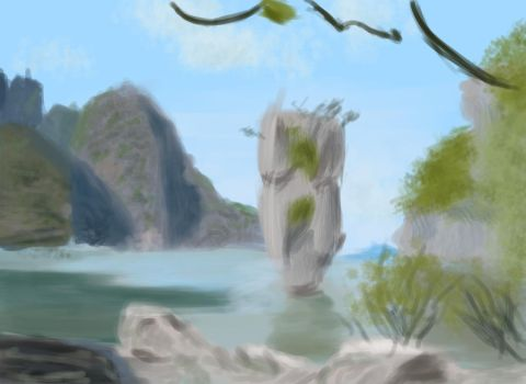 Thailand speedpaint by ScathVelhacos
