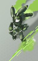 SYNC: Verdaz the Robot Rabbit by TysonTan