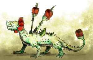 Thorny dragon by dragseal