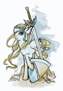 Winged Blade by Chio-Kami