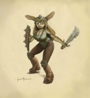 Tiger Mouse: Anthro Character by dinfet