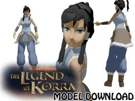 MMD Avatar, The Legends Of Korra Update DL by SachiShirakawa