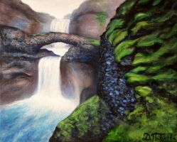 Scenic waterfall by diana-0421