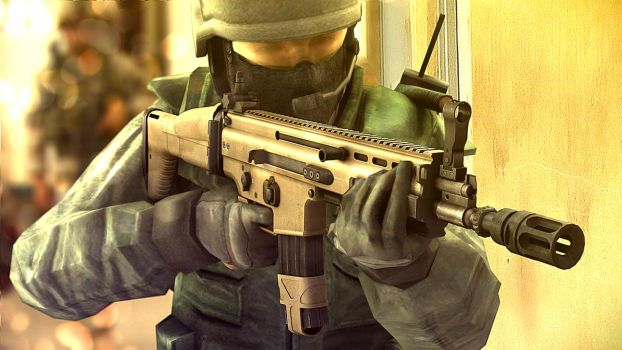 Counter Strike meets real life by shorty91