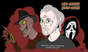 Wes Craven Tribute by UncleScooter