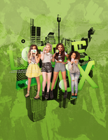 ++Little Mix Retro/Light by CandyBiebs