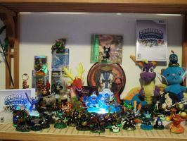 Skylanders Collection by OpalOsprey