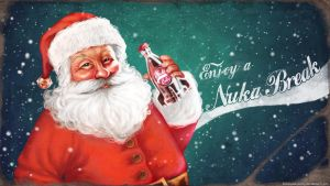 Nuka Santa - wallpaper by Anastasia-berry
