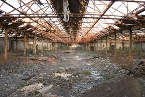 Abandoned Warehouse (main section) by samtheartman