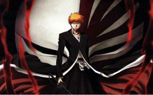 Ichigo Bankai by white-huntress