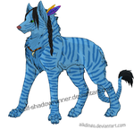 Na'Vi Wolf by Wolf-Shadowrunner