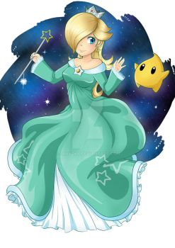 Comission - Rosalina by Jannzky