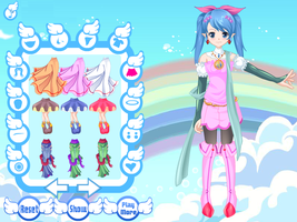 Design Angel Avatar - Anime Dress up Games by kute89