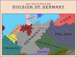 Division of Germany by SoaringAven