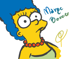 Marge Bouvier by LillayFran