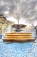 Fountain HDR by spr33