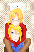 APH- Alfred x Matthew by rocioakaharty