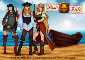 Pirate Girls by FaustoX9285