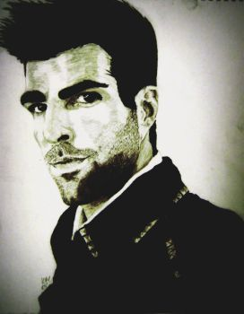 Zachary Quinto by scarymonsters1991