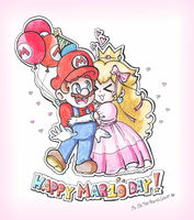 .:Happy MAR10 Day!:. by ThePinkMarioPrincess