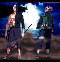 Eternal Rivals - Naruto #666 by JoeZart63