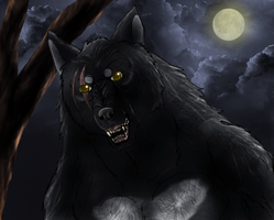 Bogar the werewolf by Tai91