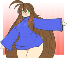 Sweater Com - Sanone by TehButterCookie