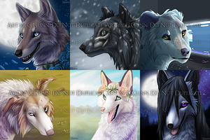 YCH Icons : Completed by InstantCoyote