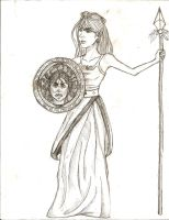 day 107: athena by Mary7Joe