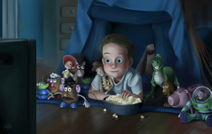 Freeze Frame - Toy Story 3 by Jullith