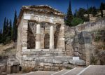 Treasury of the Athenians by rhipster