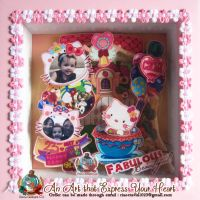 Paperframe HelloKitty by snowginger