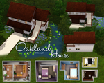Sims 3 Lots: Oakland House by DOMOodo