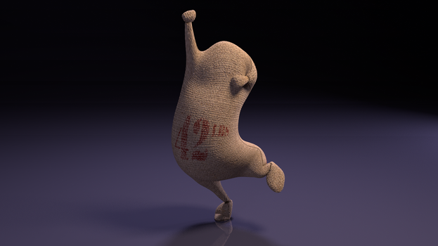 Bobby The Bag - Free Animation Ready Blender Rigg by bdec