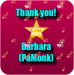 Thank you from Barbara by AudraMBlackburnsArt
