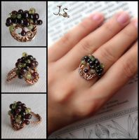 Ring to the set Bunch of berries by JSjewelry