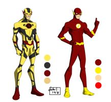 The DC Project: The Flash, Reverse Flash redesign by huatist