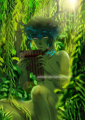 Forest Fairy I Forgot Hisname by Warao