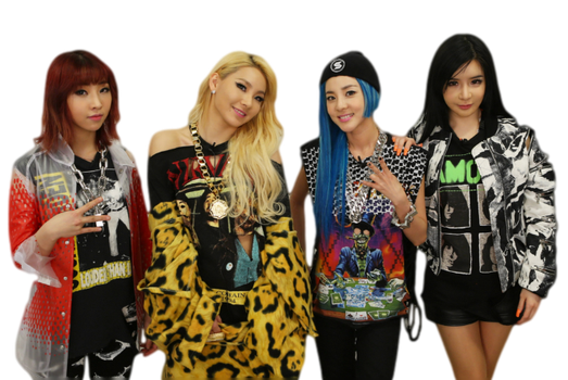 2NE1 Come Back Home PNG by AwesomePopularGirl