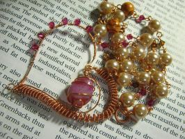 Copper Heart Wrap by harpoonerism