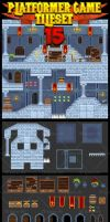 Castle Game Tileset by pzUH