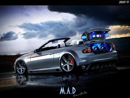 BMW 335i cabrio by maddinc