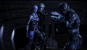 Mass Effect 3 Goodbye by rienquedesmoutons
