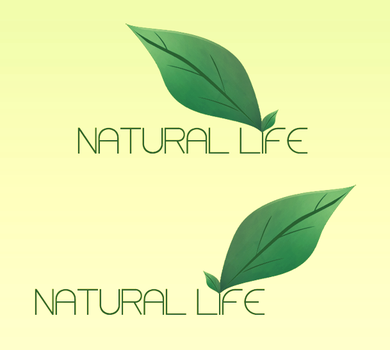 Natural Life - Logotipo by charlycmjcla