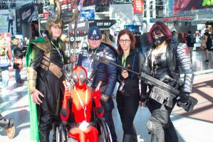 New York Comic Con 2015 - Marvelous! by VideoGameStupid