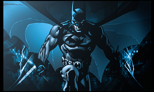 Batman by Spider-Man91