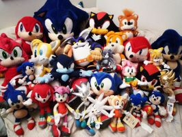 Sonic Plushies by MolochTDL